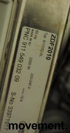 Zanussi ZDF2010 oppvaskmaskin i hvitt, pent brukt bilde 2
