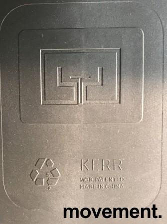 Lekker stablestol i sort kunststoff, UV-behandlet for utendørs bruk, modell MS03, NY/UBRUKT bilde 5