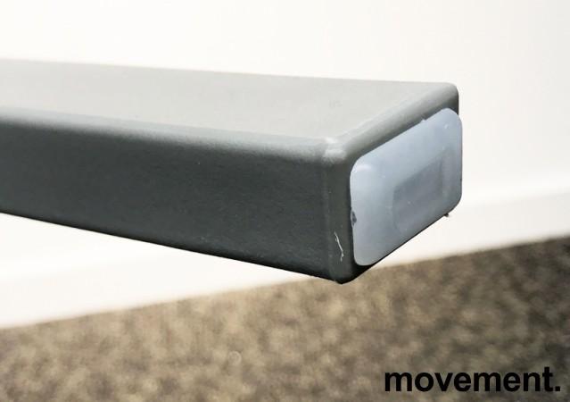 Lekker, grå stablestol i kunststoff, UV-behandlet for utendørs bruk, modell MS03, NY/UBRUKT bilde 5