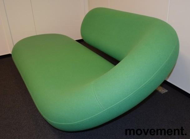 Artig loungemøbel i grønt fra Artifort, Chaise Lounge / Cleopatra, Design: G.D.Harcourt, pent brukt bilde 2