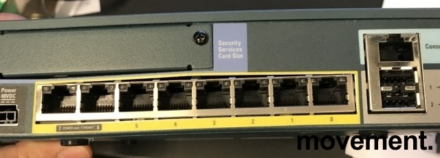 Cisco ASA 5505 Security Appliance ASA5505 V11, Firewall, pent brukt bilde 4