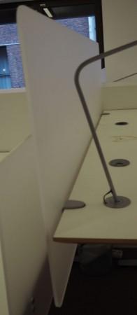 Bordskillevegg i frostet akryl fra Svenheim, 160x65cm, pent brukt bilde 2