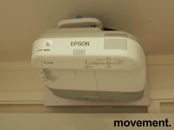 Epson Short-throw-prosjektor: EB475W, 1280x800 Widescreen, HDMI, 2600Lumen, pent brukt bilde 2