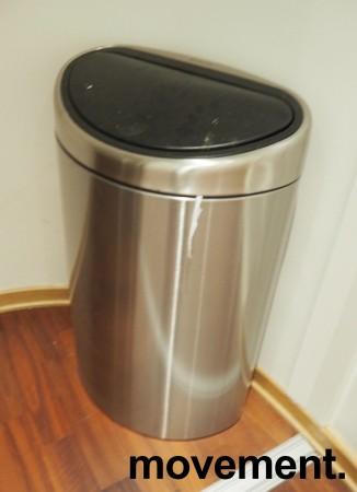 Brabantia søppelbøtte, 2 innvendige bøtter, pent brukt bilde 1