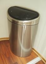 Brabantia søppelbøtte, 2 innvendige bøtter, pent brukt