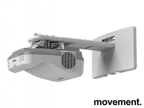 Epson Short-throw-prosjektor: EB585W, 1280x800 Widescreen, HDMI, 3300Lumen, pent brukt bilde 1