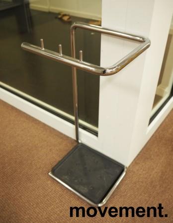 Paraplyholder i krom fra Materia, modell Paraflax, pent brukt bilde 2