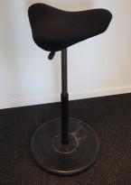 Ergonomisk kontorstol: Varier (Stokke) Move i sort, pent brukt