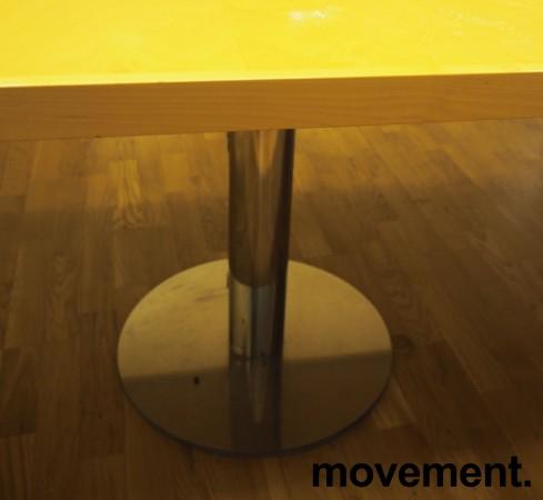 Møtebord i bjerk / krom, 480x110cm, passer 16-18 personer, pent brukt bilde 3