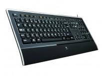 Logitech K740 / Y-UY95 Tastatur USB Norsk, bakgrunnsbelysning, pent brukt