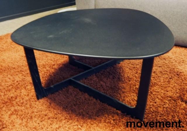Loungebord i sort, Erik Jørgensen Insula EJ190, Design: Ernst & Jensen, pent brukt bilde 2