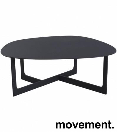 Loungebord i sort, Erik Jørgensen Insula EJ190, Design: Ernst & Jensen, pent brukt bilde 4