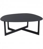 Loungebord i sort, Erik Jørgensen Insula EJ190, Design: Ernst & Jensen, pent brukt
