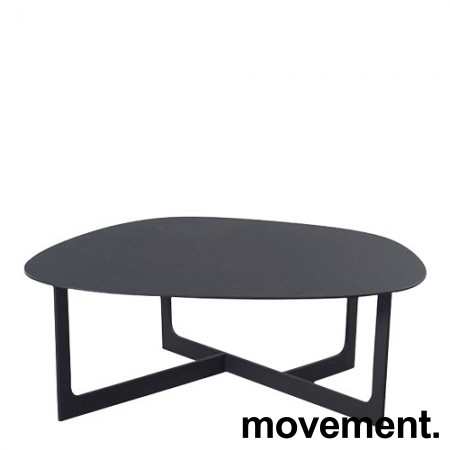 Loungebord i sort, Erik Jørgensen Insula EJ191, Design: Ernst & Jensen, pent brukt bilde 4