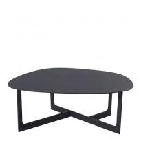 Loungebord i sort, Erik Jørgensen Insula EJ191, Design: Ernst & Jensen, pent brukt