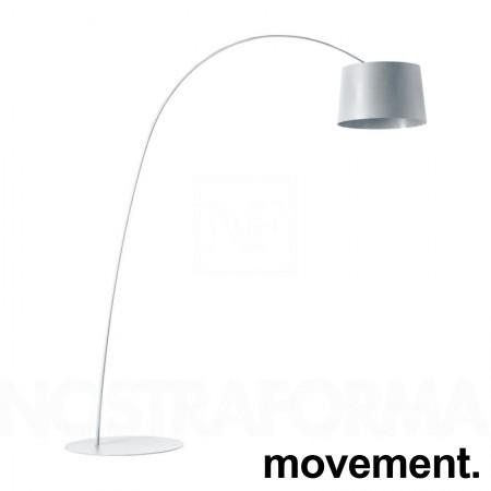 Foscarini Twiggy Terra stålampe i hvitt, høyde ca 210cm, pent brukt bilde 1