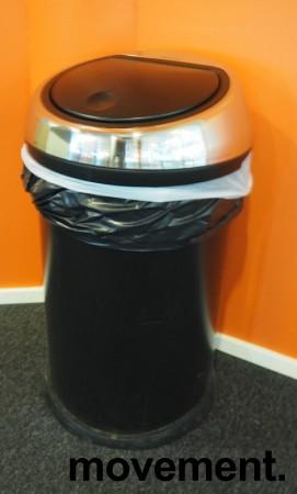 Brabantia Touch Bin søppelbøtte 60 liter, høyde 70,5cm, pent brukt bilde 2