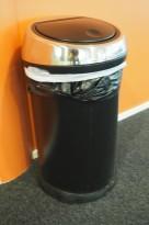 Brabantia Touch Bin søppelbøtte 60 liter, høyde 70,5cm, pent brukt