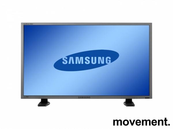 Samsung LH46BVPLBF/EN, 46toms Public Display-skjerm, FULL HD, pent brukt, OBS! Mangler deler av plastdeksel bilde 1