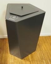 Søppelbøtte / papirkurv / kildesortering for restavfall i grått fra Trece, pent brukt