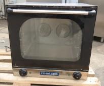 Bakeoff-ovn fra Metos, 60cm bredde, 54cm dybde, 56cm høyde, pent brukt