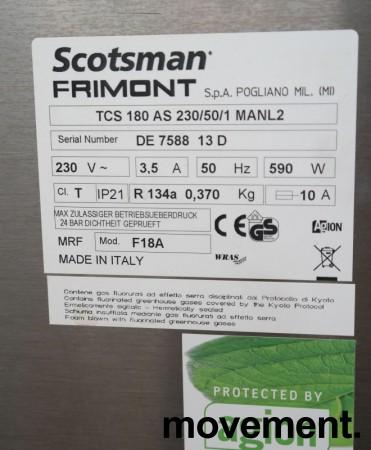 Isbitmaskin / isdispenser fra Scotsman, modell TCS180AS / 135kg/døgn , pent brukt bilde 4