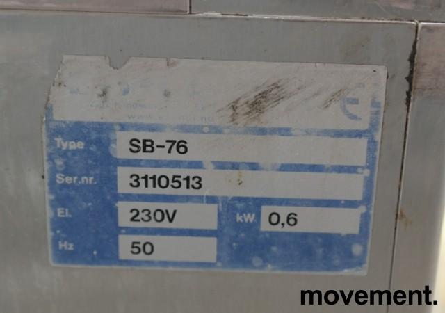 Kjøleboks / kjøleskap på hjul fra Essnor, modell SB-76, 76x65cm, pent brukt bilde 4