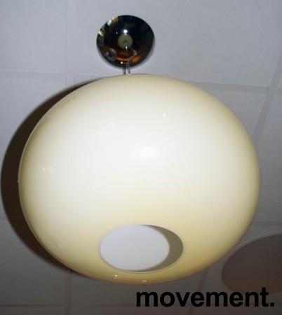 Taklampe / Pendellampe fra Foscarini, modell Buds 2, Ø=42cm, beige glass, Design: R. Dordoni, pent brukt bilde 3