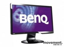 Benq 24toms skjerm LED G2420HD, 24toms Full HD 1920x1080, VGA/DVI/HDMI, pent brukt