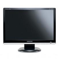 Flatskjerm til PC: Samsung Syncmaster 226BW, 22toms, 1680x1050, VGA/DVI, pent brukt