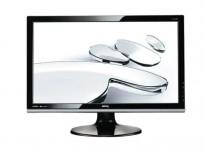 Flatskjerm til PC: Benq E2420HD, 24toms Full HD 1920x1080, VGA/DVI/2xHDMI/USB/AUDIO, pent brukt