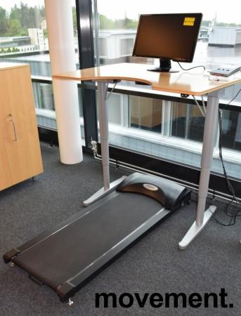 Bwell tredemølle for kontor, Kontormølla, med konsoll som kan settes på pulten, pent brukt bilde 2