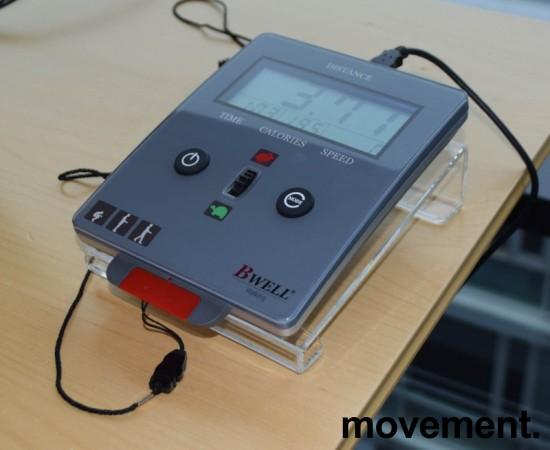 Bwell tredemølle for kontor, Kontormølla, med konsoll som kan settes på pulten, pent brukt bilde 4
