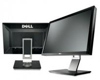 Flatskjerm til PC: Dell 24toms, U2410f, 1920x1200, USB/DVI/DP/HDMI m.fl., pent brukt