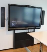 SmartBoard-løsning med 1 stk 70toms skjerm, modell 8070i, med høyttalere og kamera, pent brukt