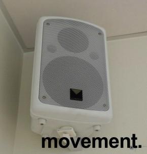 Aktive høyttalere med veggfeste T&M Systems 6.5pa, 1 par selges samlet, pent brukt bilde 2