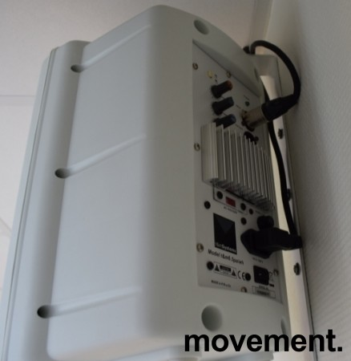 Aktive høyttalere med veggfeste T&M Systems 6.5pa, 1 par selges samlet, pent brukt bilde 3