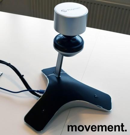 Videokonferanse fra Polycom, modell CX5100 Unified Conference Station, pent brukt bilde 1