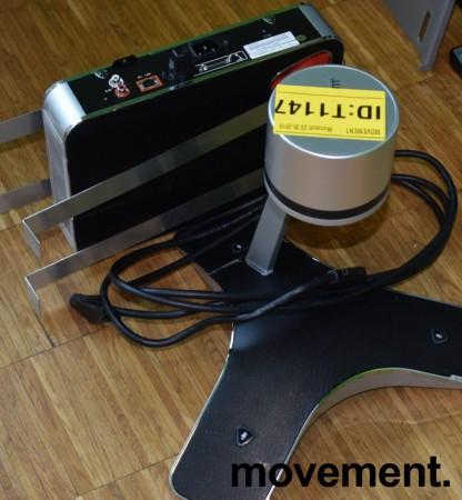 Videokonferanse fra Polycom, modell CX5100 Unified Conference Station, pent brukt bilde 3