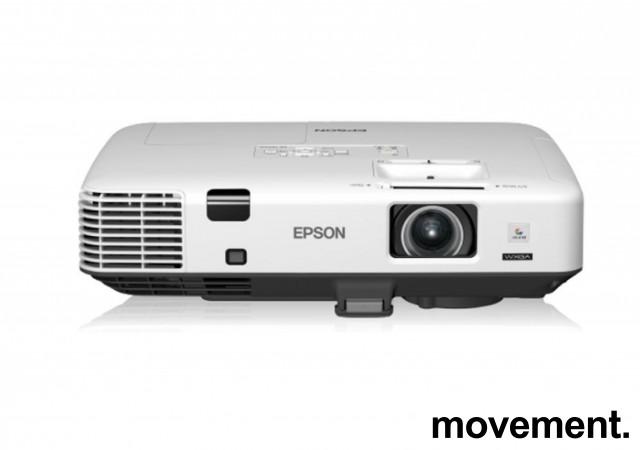 Widescreen-projector, Epson EB-1940W, 1280x800, HDMI, 4200lumen, pent brukt - 2081 timer på pære bilde 1