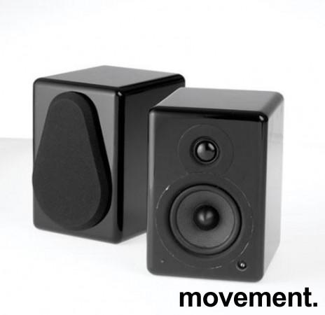 Argon 7340/7340A, 1 par aktive høyttalere, sort, pent brukt bilde 1