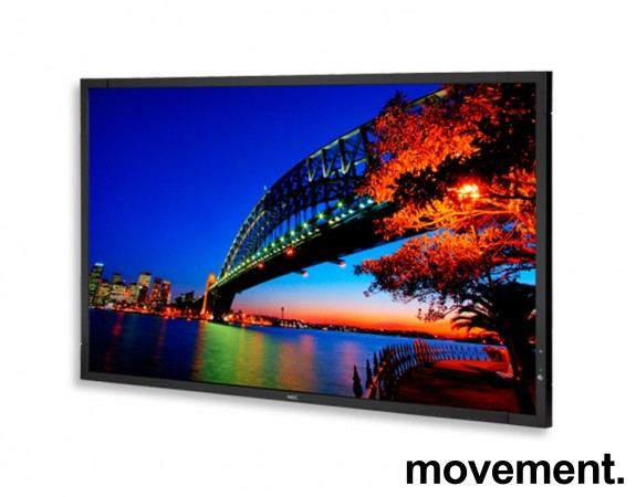 NEC Public Display / Signage, X551S LED Edge-lit, 55toms, Full-HD 1920x1080, pent brukt