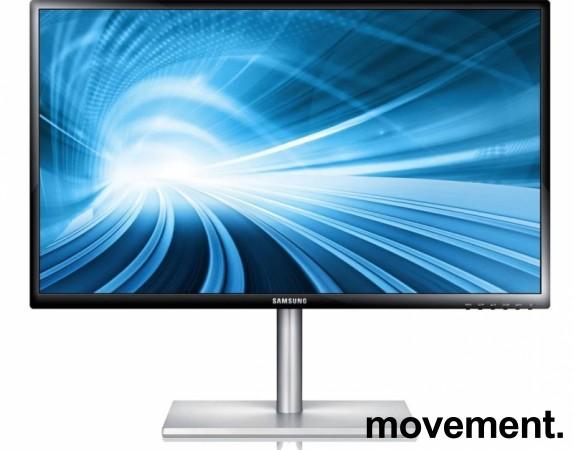 Flatskjerm til PC: Samsung 27toms LED IPS, 1920x1080, LS27C750PS/EN, tynn, pent brukt