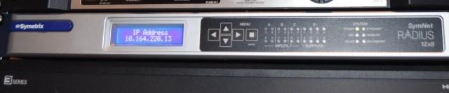 Symetrix SymNet Radius 12x8 DSP 1unit rackmount, pent brukt