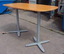Barbord / ståbord fra Kinnarps i bøk, T-serie, 180x90cm, pent brukt