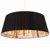 Taklampe fra Nicolette Brunklaus, modell Forest Lamp, Shady Tree, Black, Ø=110cm, pent brukt