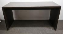 Barbord / ståbord i brunbeiset eik, 180x80cm, høyde 90cm, brukt med noe slitasje