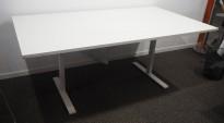 Møtebord / konferansebord i hvitt fra Edsbyn, 180x100cm, brukt med noe slitasje