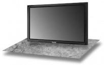Flatskjerms-TV fra Panasonic, Plasma, eldre 40toms, TH-42PWD7E,  uten bordfot, pent brukt