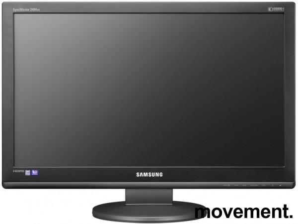 Samsung SyncMaster 2494HM, 24toms, 1920x1080 FULL HD, VGA/DVI/HDMI, pent brukt